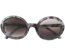 oversized round shaped sunglasses