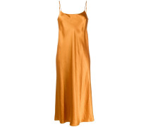 Schmales Kleid in Glanzoptik