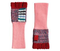 Handschuhe mit Patchwork-Muster