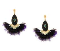 Serti Paon earrings