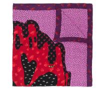 x Disney floral scarf