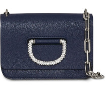 The Mini Leather Crystal D-ring Bag