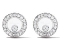 18kt 'Happy Diamonds Icons' Ohrstecker aus Weißgold