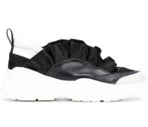 Sneakers mit Rüschendetail