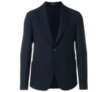 buttoned up longsleeved jacket