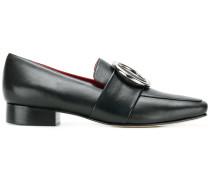 Loafer mit runder Schnalle
