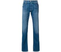 Klassische Jeans mit schmalem Schnitt