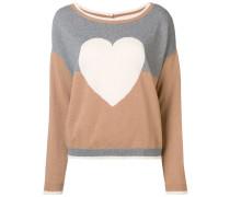 heart motif jumper