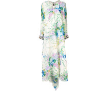 oversized floral maxi dress