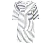 T-Shirt mit langem Schnitt