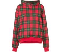 plaid hoodie