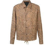 Jacke mit Leoparden-Print
