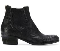 Chelsea-Boots mit niedrigem Absatz