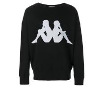 Sweatshirt mit Kappa-Logo