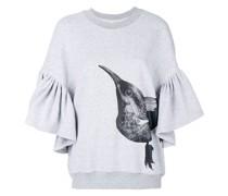 Sweatshirt mit Vogelmotiv