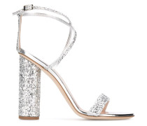 glitter detail sandals