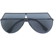 Gerade Pilotenbrille