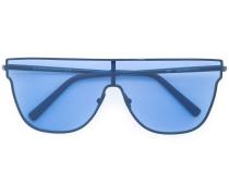 Sonnenbrille mit farbigen Gläsern
