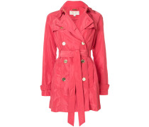 coral fitted coat