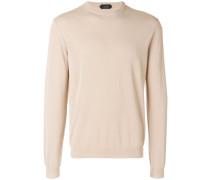 slim fit crewneck sweater