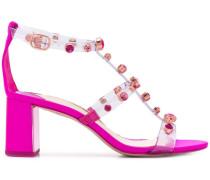 Sandalen mit Diamantnieten