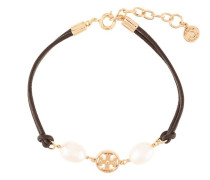 logo pearl bracelet