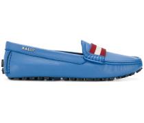 Loafer mit Kontraststreifen