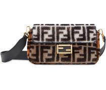 colour block monogram Baguette bag