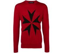 'Military Star' Pullover