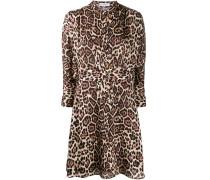 Kleid mit Leoparden-Print