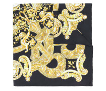 Seidenschal mit barockem Print