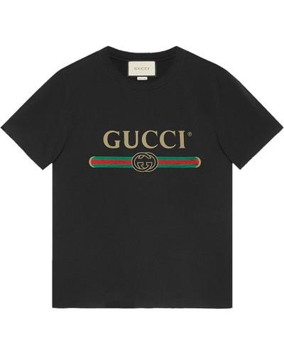 'Washed' T-Shirt mit Logo