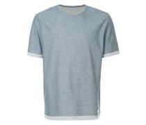 T-Shirt mit kontrastierendem Saum