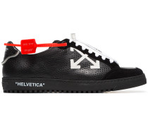black Low 2.0 leather sneakers