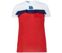 T-Shirt mit Rüsche