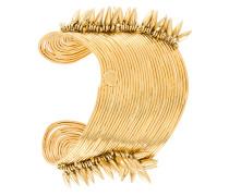 24kt vergoldete 'Wave Pic' Armspange