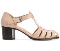 Sandalen im gewebten Design