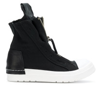 zipped hi-top sneakers - Unavailable