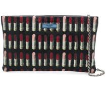 lipstick print pouch