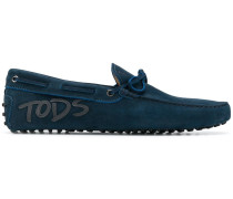 Loafer mit Leder-Applikationen