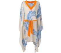 floral print asymmetrical dress