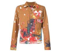 x Carhartt paint splatter jacket