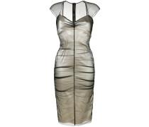 Figurnahes Kleid im Lagen-Look