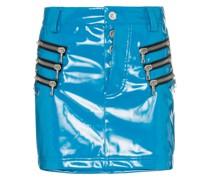 Minirock mit Reißverschlusstaschen