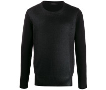 Pullover im Wet-Look