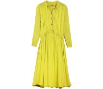 Georgette-Kleid mit Raffungen - Unavailable