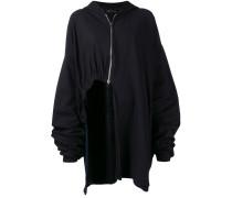 elongated asymmetric jacket