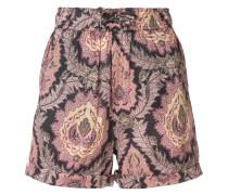 Shorts mit Paisley-Print