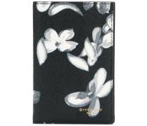 floral bi-fold wallet