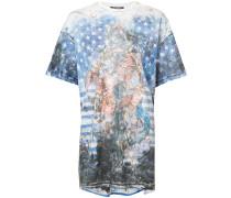 """T-Shirt mit """"U.S.A""""-Print"""